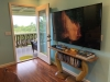 """65"""" 4k HDR TV and entrance from screened lanai"""